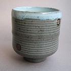 Tea Cup, Yunomi, Shino Glaze, John Miller; Portland, OR