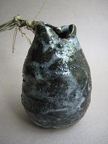 Hanging Vase, Kakehanaire; Sachiko Furuya