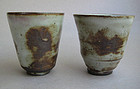 Set of 2 Cups; Sachiko Furuya