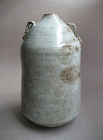 Vase with lug handles, Sachiko Furuya