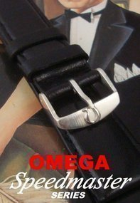 OMEGA Speedmaster Series Old Style Buckle on 20mm Strap