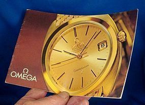 OMEGA Brochure 18k GOLD Models Identification C: 1963