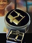 ROLEX 14mm Yellow Ladies Logo Buckle ROLEXSA Swiss 1968