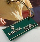 New Rolex Watch Serial No. I.D. Tag. Genuine.