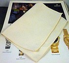 "ROLEX Polishing Cloth ""8"" by 6"" size. Circa: 1975"