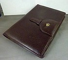 "Rolex Genuine Leather NOTEBOOK 6"" by 8"" C: 1975"