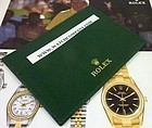 ROLEX Green certificate Card or Credit Card Holder