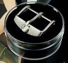 Vintage Omega 18mm Silver Logo Buckle Speedmaster Serie