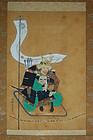 Scroll, Kusunoki Masashige, Kano Eishin, Japan, Edo per