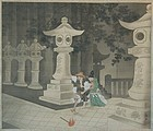 Scroll, painting of Tadamori catching a thief, Taisho