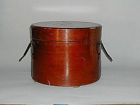 Wooden portable lunch box, Japan, 19th century