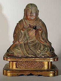 Zushi, Shichimen, Kishimojin, Nichiren, Japan, 18th c.