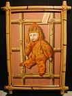 "Cyrus Seymour  ""China Doll"" in bamboo frame"