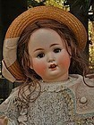 Pretty Grand Size German Bisque Character Girl