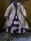 Antique Enfantine Poupee Costume for Huret or Rohmer
