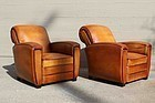 St Mere Eglise Rollback Lounge French Club chair pair