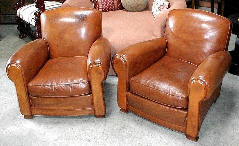 vintage leather chairs for sale leather club chairs vintage humpback pair item 8838