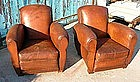 Vintage French Club Chairs - Gangbox Ancient