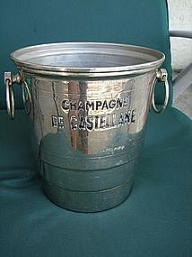 Vintage French Champagne de Castellane Ice Bucket