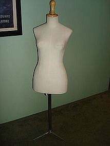 Vintage French Mannequin Dress Form Stockman Paris