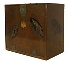 Antique Japanese Lacquered Case