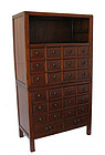 Antique Chinese Two Section Medicine Chest