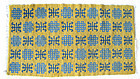 Chinese Antique Small Rug with Yellow Ground
