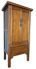 Chinese Antique Jumu Wood Cabinet from Shanxi Area