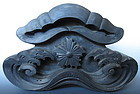 Japanese Antique Onigawara Roof Tile with Star