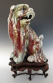 Chinese Porcelain Foo Dog