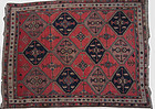 Afshar Iranian Hand Knotted Rug