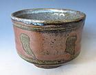 Mashiko Ware Tea Bowl by Hamada Shoji