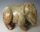 Chinese Beautiful Jade Elephant