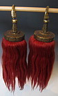 Antique Chinese Pair of Tassels