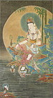 Korean Buddhist Painting of Suwol Gwaneum
