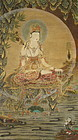 Silk Scroll of Korean Quanyin