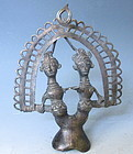 Antique Indian Metal Hindu Statue