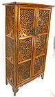 Tall Chinese Huanghuali Cabinet