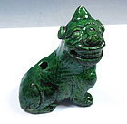 Antique Chinese Glazed Porcelain Water Dropper