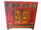 Sino Tibetan Laqcuered Cabinet