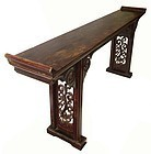 Antique Chinese Long Altar Table