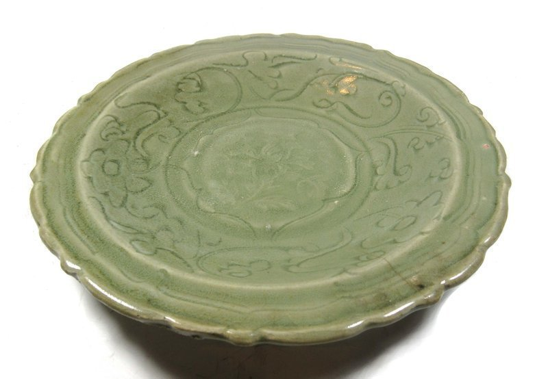 Antique Chinese Celadon Plate