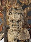 Antique Japanese Carved Wooden Fudō Myō-ō