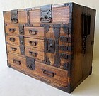 Antique Edo Age Japanese Kiri Tansu