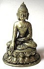 Antique Himalayan Bronze Buddha