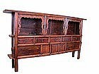 Antique Mongolian Book Shelf