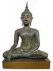 Bronze Sukhotai Buddha