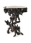 Japanese Antique Hardwood Root Stand
